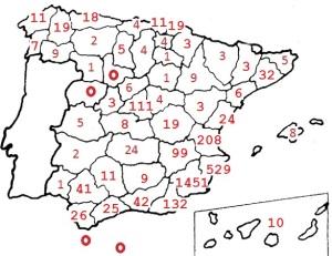 Carreras en España