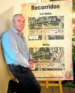 20/11/2015 cartagena participante del cross de artilleria paco morales